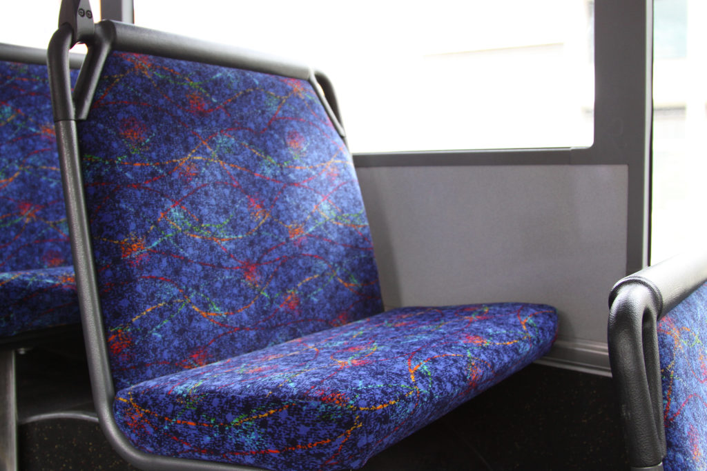 A bus seat that is not rock hard: onboard a Dysons route ...