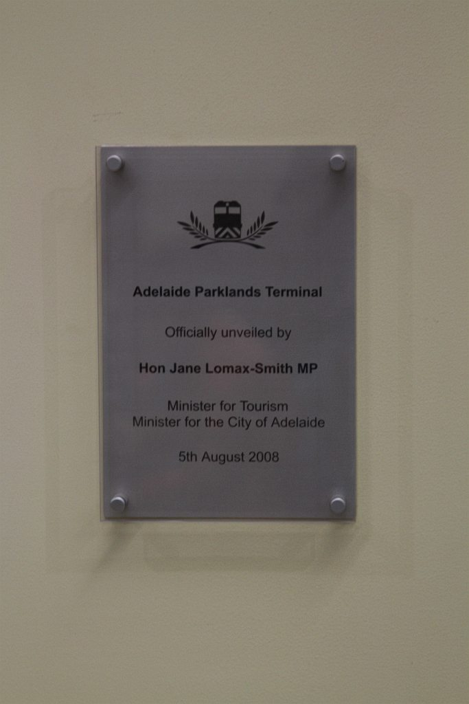 plaque marking the opening of the adelaide parklands. Black Bedroom Furniture Sets. Home Design Ideas