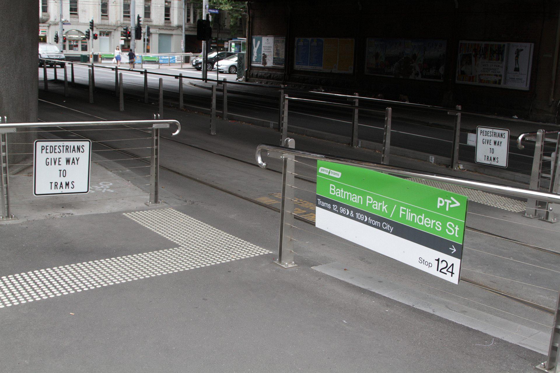 Naked tram stopped caption