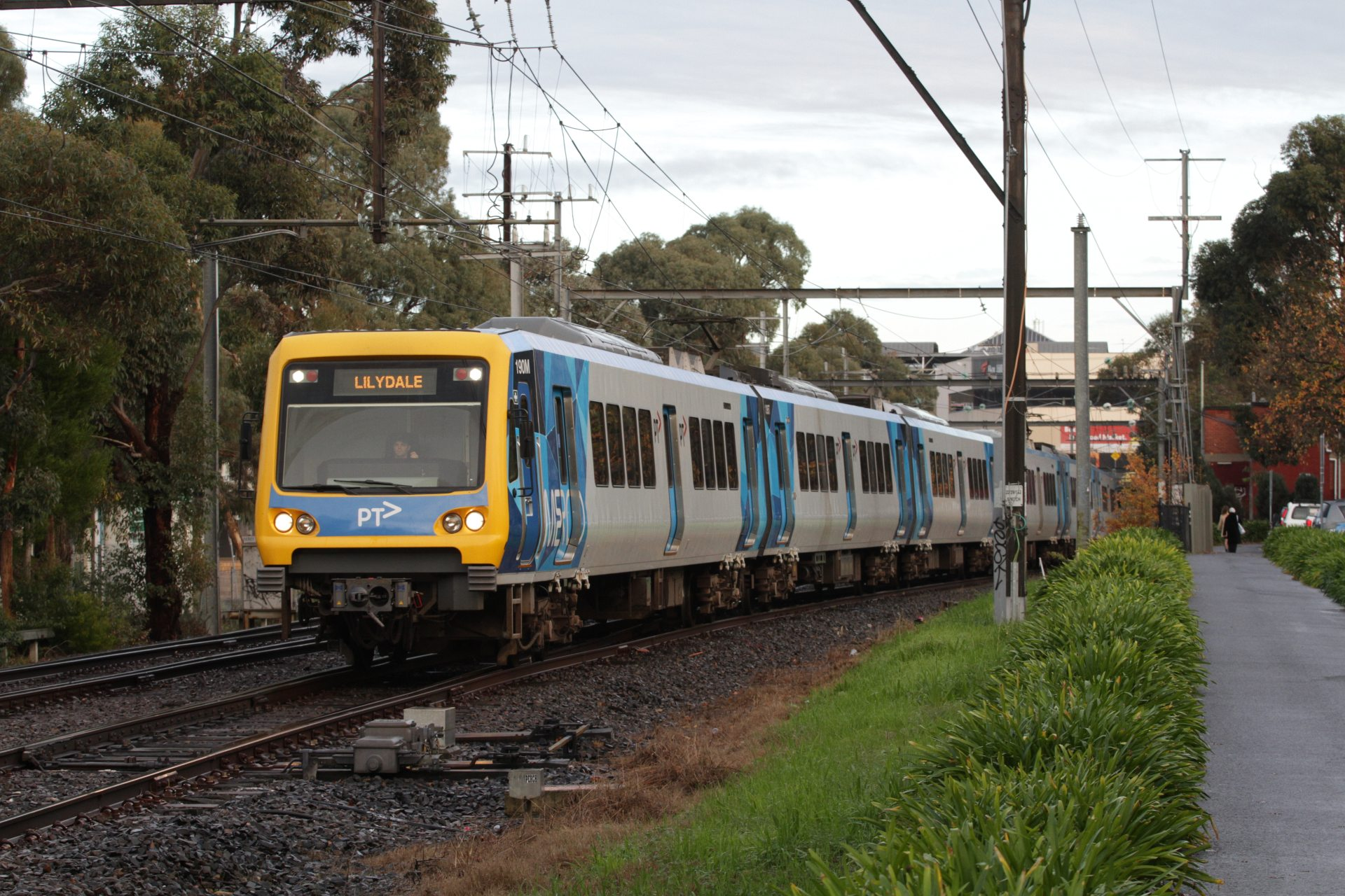 X Trapolis 190m Departs Box Hill With A Down Lilydale