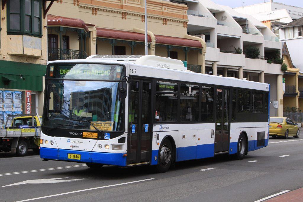 Sydney Buses 1616 Volvo B12ble Volgren Quot Cr228l Quot At