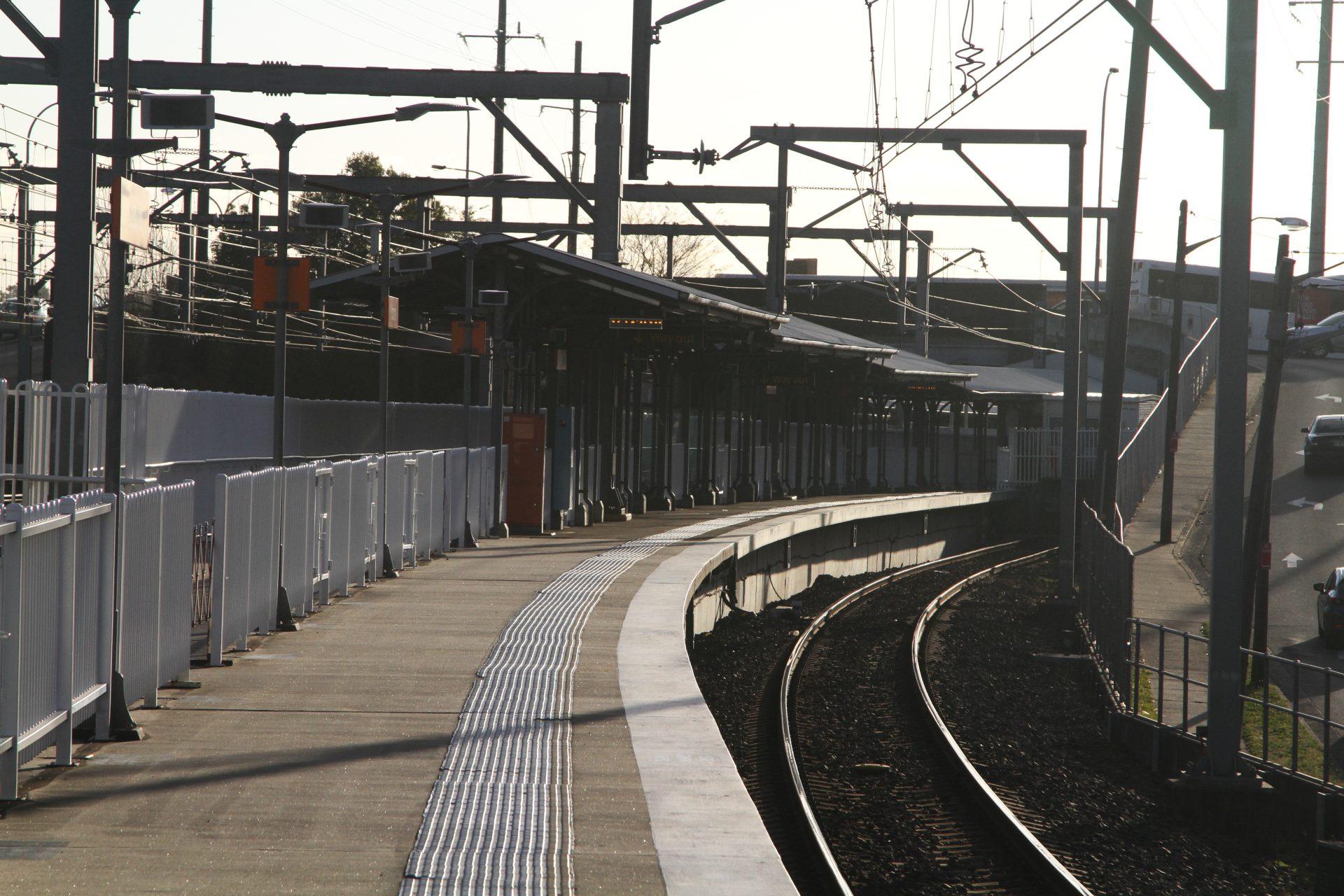 Platform 0 at Lidcombe station - Wongm ...