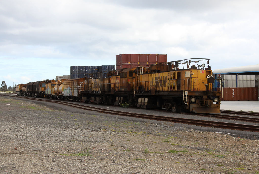 John Holland Units Stabled In The Crt Depot At Altona