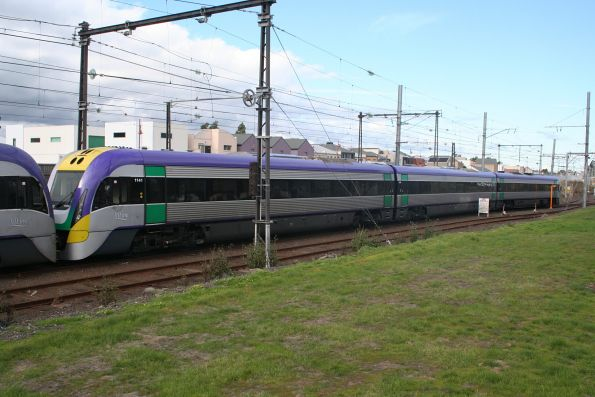 V/Line - three car VLocity trains