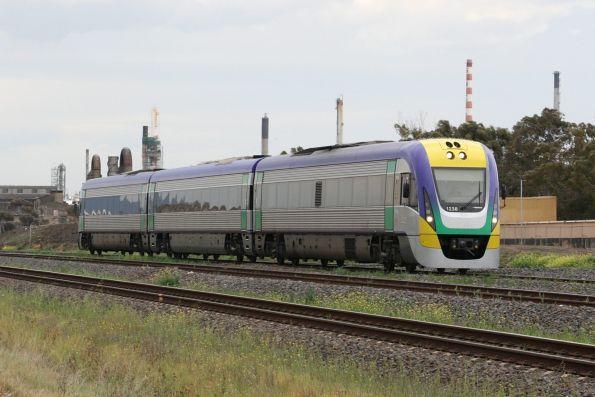 V/Line - three car VLocity trains - Wongm's Rail Gallery
