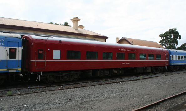 BZ carriage in 707 Operations livery