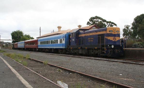 T356 on the up end of the train at Colac