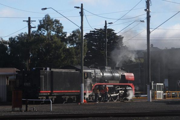 707 Operations - Geelong and Bellarine Railway, July 2014