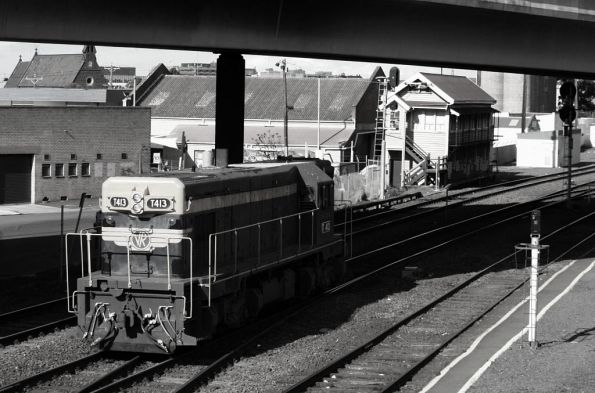 T413 running around at Geelong
