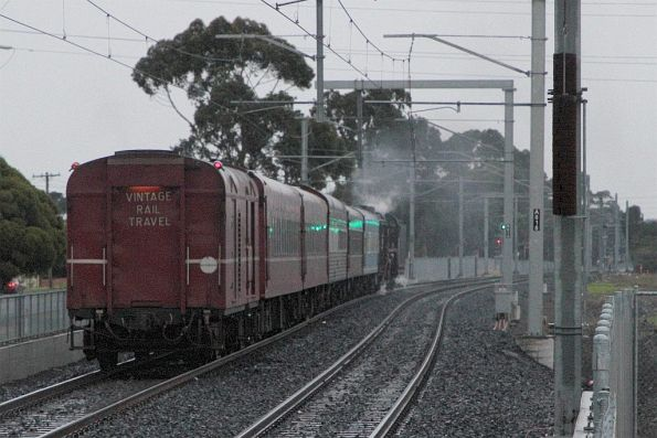 707 Operations - Winter School Holiday Steam to Gisborne, 2019