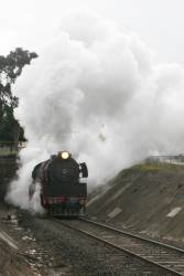 R707 emerges from the Geelong Tunnel