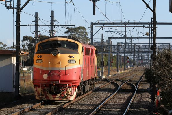 V/Line - A66 transfer to Bendigo