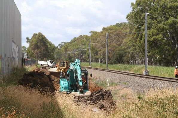 Abbotts Road level crossing removal