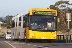 #2820 heads into Adelaide from Noarlunga Centre
