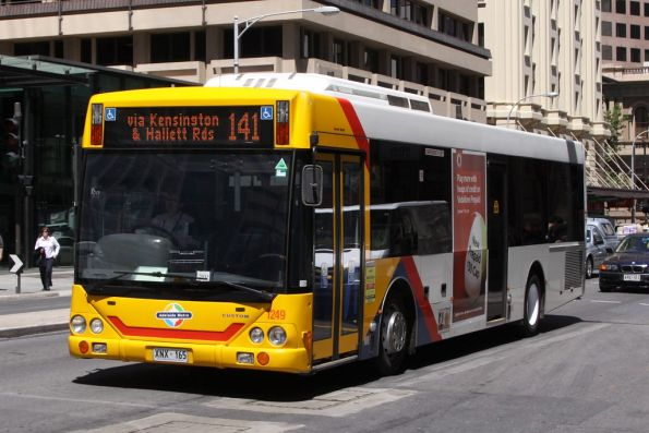 #1249 eastbound on Grenfell Street at King William Street