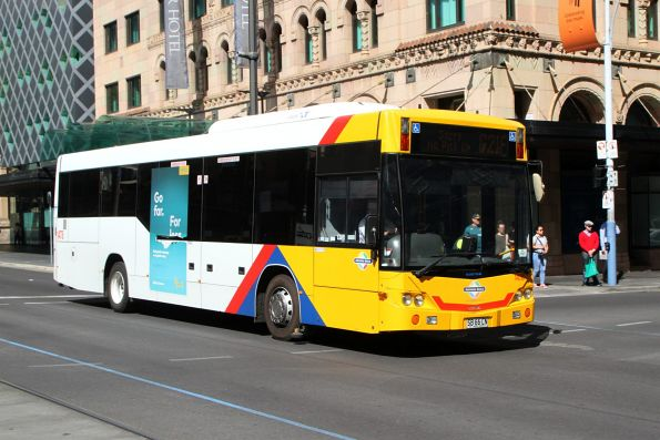 #1478 SB66CN on route G21F at King William Street and Rundle Mall