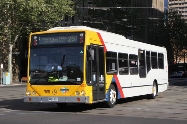 #1323 on route 251 at King William Street and North Terrace