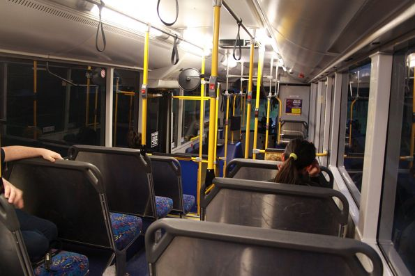 Onboard an Adelaide bus on the O-Bahn