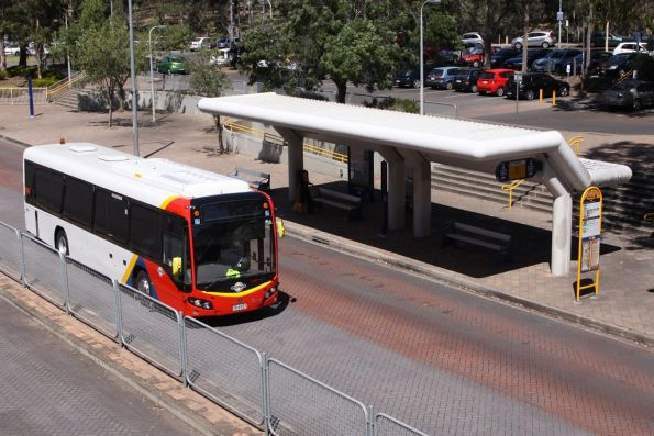 New Adelaide Metro liveried #1560 passes through Klemzig Station