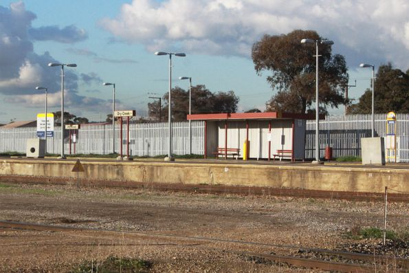 Dry Creek station closed for the Gawler line rebuilding