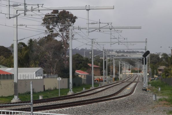Tonsley line now electrified and partially double tracked