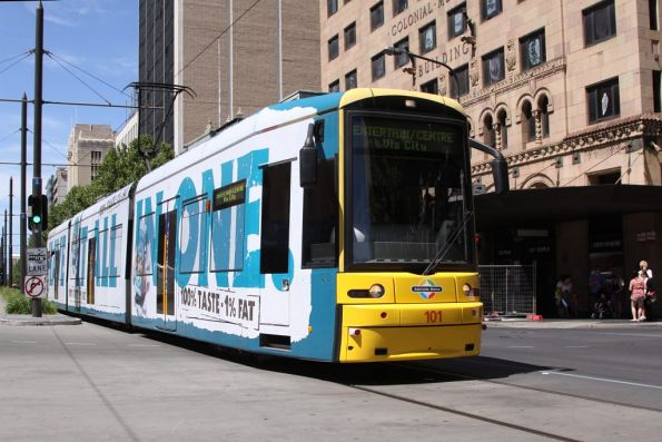 Flexity 101 at Hindley and King William Streets