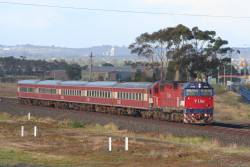 N465 on an up Warrnambool at Corio