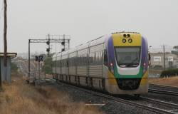 3VL39 trails a classmate out of Corio