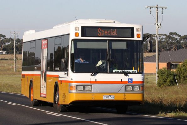 Sita Buslines #45 rego 6312AO on an airshow shuttle