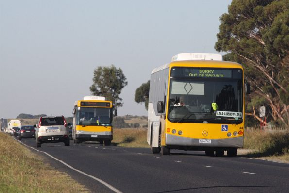 Mitchell Transit buses on Old Melbourne Road