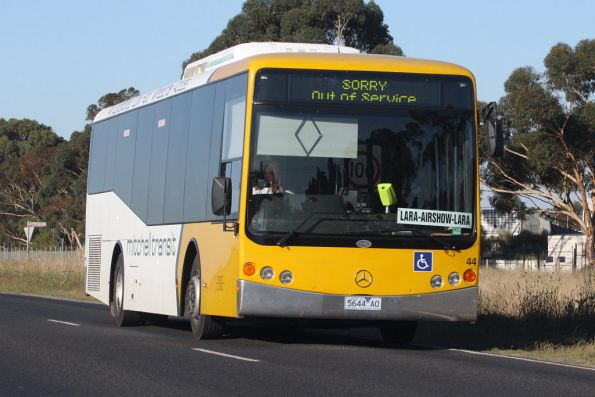 Mitchell Transit 5644AO on an airshow shuttle