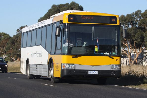 Mitchell Transit 6454AO on an airshow shuttle