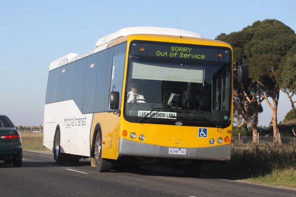 Mitchell Transit 6346AO on an airshow shuttle