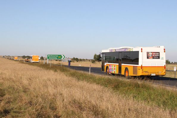 Sita buses head back to Melbourne after running airshow shuttles