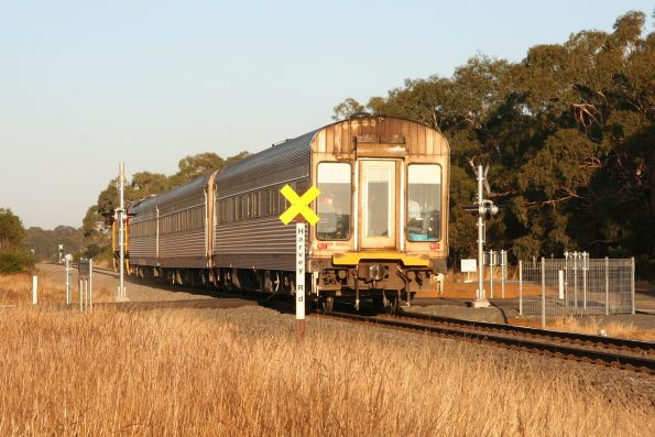 And headed for Inverleigh and eventually Adelaide
