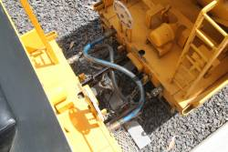 Couplers, dual air lines and chains between VHGY grain hoppers