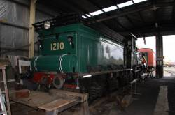 Tender of steam loco 1210