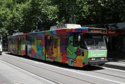 B2.2012 'Marvellous Melbourne' by Valerie Tang heads south on route 3 at Swanston and Collins Street
