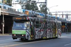 A2.273 with a design by David Larwill, eastbound on route 70 at Flinders and William Street
