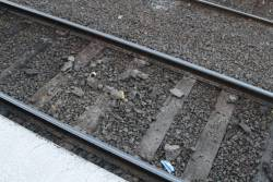Burst water main resulted in debris on the tracks at Ascot Vale