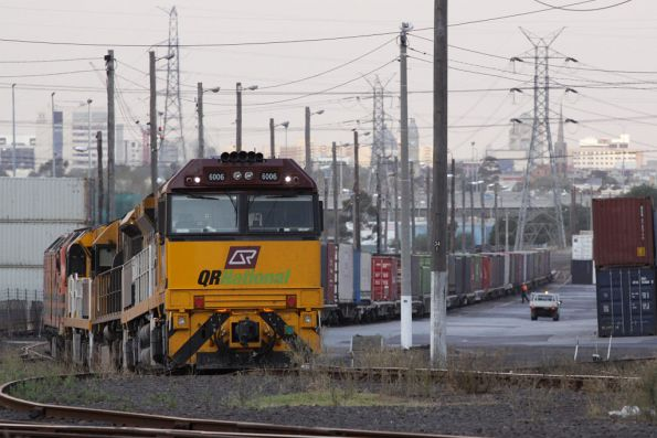 QRN 6006 in front of LDP004, 6004 and a CLP at North Dynon