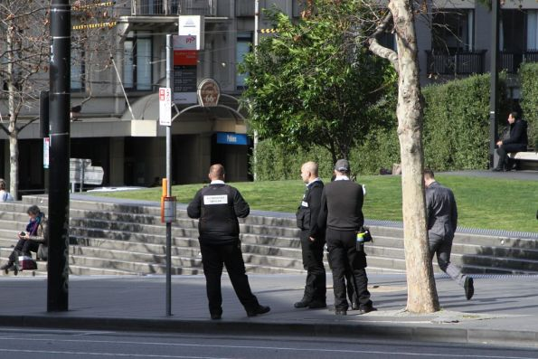 Authorised Officers at the Southern Cross Station bus stop