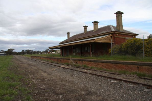 Avoca line signalling and infrastructure