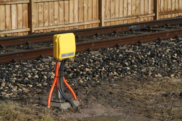 Thales axle counters installed at the Webb Street level crossing in Narre Warren