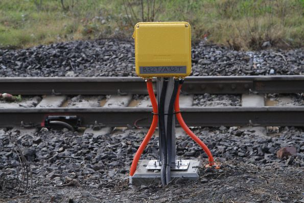 Thales axle counters installed at the Berwick station pedestrian crossing