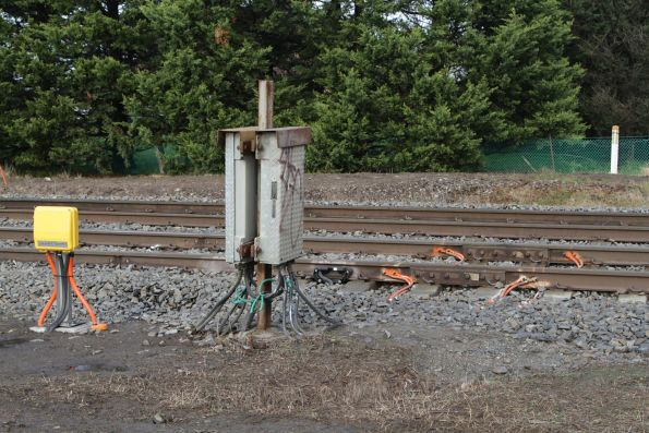 Thales axle counters installed at the Brunt Road level crossing, Beaconsfield