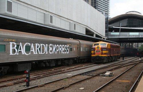 4490 with headboard runs around the train