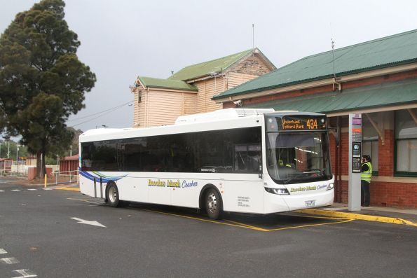 Bacchus Marsh Coaches 7016AO on route 434 at Bacchus Marsh station