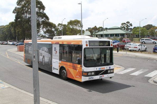 CDC Ballarat bus #145 4938AO on route 10 at Wendouree station