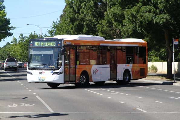 CDC Ballarat bus #210 BS04FG out of service at Ballarat station